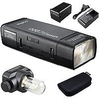 Godox AD200 TTLフラッシュポケットフラッシュ,内蔵2.4G無線Xシステム、内蔵2900 mAhリチウム電池、0.01〜2.1秒で500フルパワーフラッシュをリサイクル