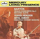 バルトーク:ヴァイオリン協奏曲第2番、組曲第2番
