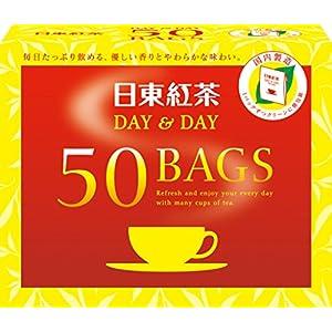 日東紅茶 DAY&DAY ティーバッグ 50袋入りの関連商品1