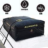 キャリアバッグ防水 AUPERTO カーゴキャリーバッグ 大容量 迅速な折り畳み