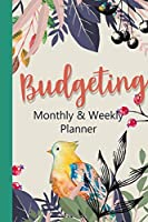 Budgeting Monthly and Weekly Planner: personal finance management / Bill Organizer / Expenses notebook / Daily Tracker / monthly and weekly budget planner (Budgeting planner)