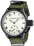 [ビーバレル]B-Barrel 腕時計 機械式スモールセコンド(手巻式) クリーム×カーキナイロン BB0046IPBK-5 メンズ