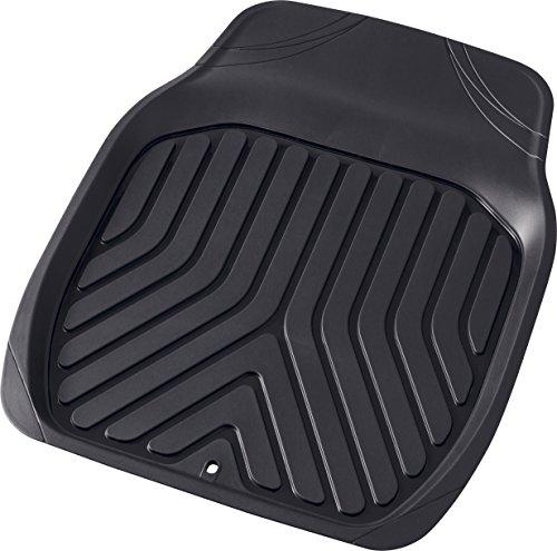 ボンフォーム カーマット 3Dプライム 前席用S 防水 バケット ブラック 46x60cm フロント1枚 軽自動車用 6279-31BK フロアマット