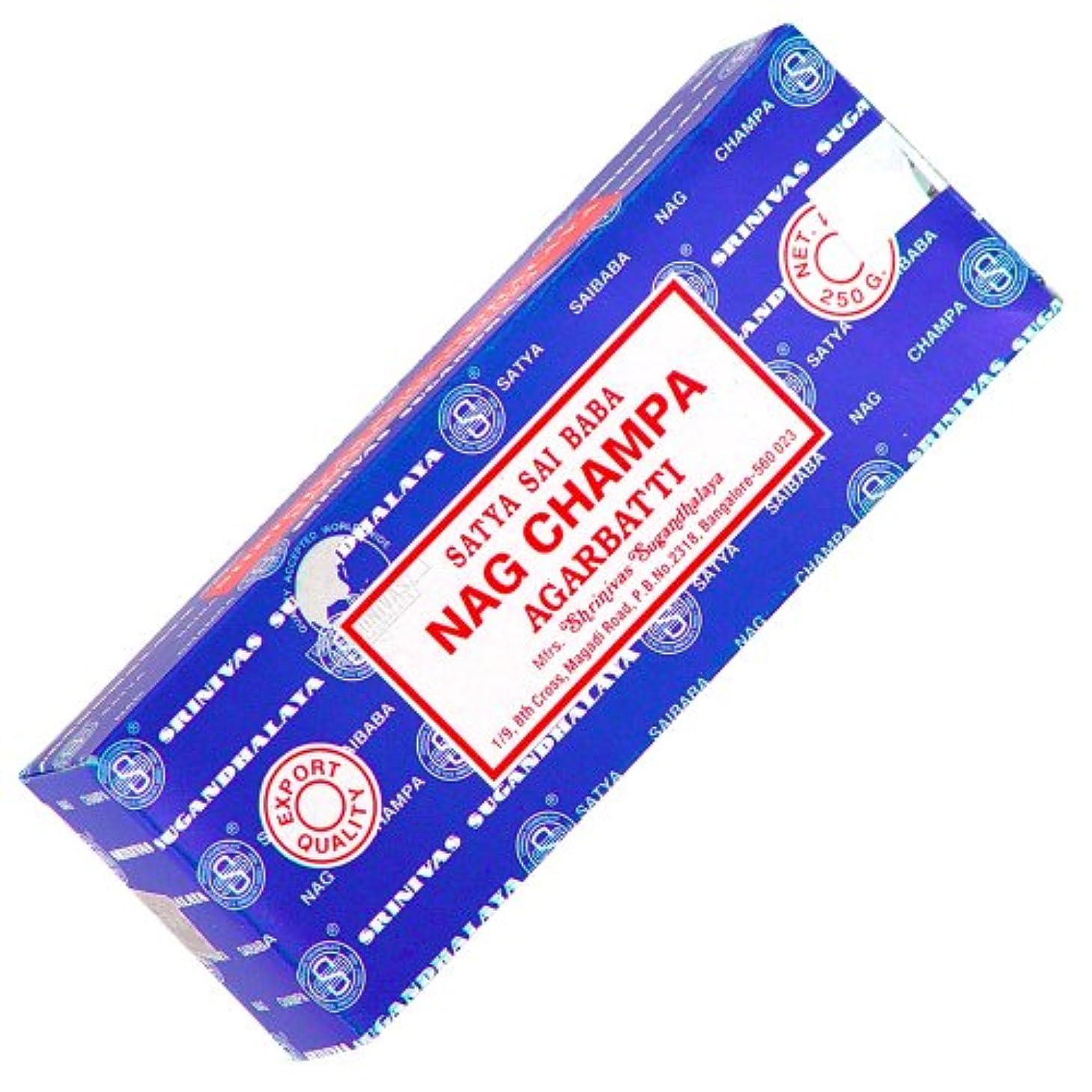 争いみすぼらしい里親Satyaお香250 gr Nag Champa各