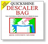 Eddingtons Quickshineデスケーリングバッグ - 簡単に皮を剥ぐケトル Eddingtons Quickshine Descaler Bag - Easily Descale Kettles