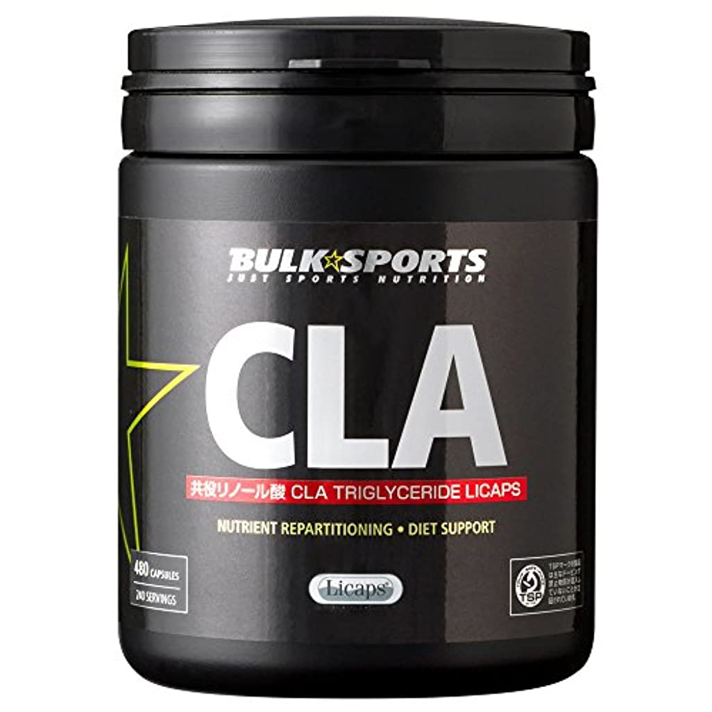 痛い読書ゲージバルクスポーツ CLA Licaps 480カプセル(240回分) 【不飽和脂肪酸:共役リノール酸】