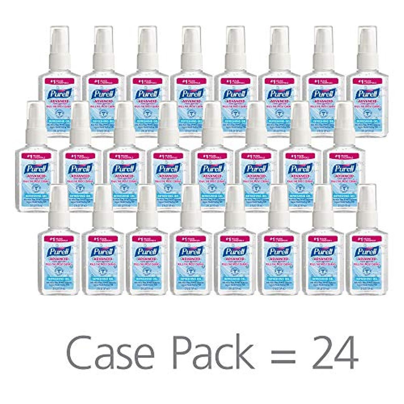 入場異なる床PURELL 9606-24 Advanced Instant Hand Sanitizer, 2 fl. oz. Pump Bottle (Case of 24),2 fl. Oz by Purell