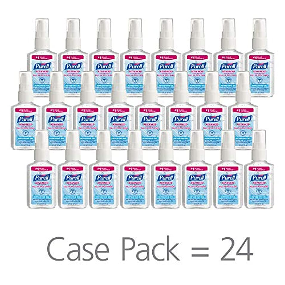 忠誠主流初期PURELL 9606-24 Advanced Instant Hand Sanitizer, 2 fl. oz. Pump Bottle (Case of 24),2 fl. Oz by Purell