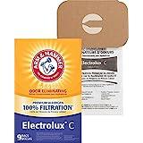 Arm & Hammer ElectroluxスタイルCプレミアムFiltration odor-eliminating真空バッグ、9パック