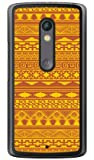 SECOND SKIN バティック イエロー (クリア) / for Moto X Play XT1562/MVNOスマホ(SIMフリー端末) MMRXPY-PCCL-299-Y285 MMRXPY-PCCL-299-Y285