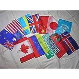 マジック用万国旗大12ヶ国 シルクハンカチ