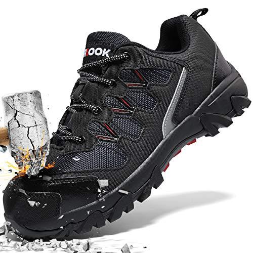 0e16fe0fadc38 [アッション] 安全靴 メンズ 作業靴 レディース 快適性 耐摩耗 ワーキングシューズ 高い