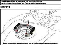 Hepco and Becker/ヘプコ&ベッカー Tankring Lock-it for Suzuki Yamaha YZF R6 / 2017 | 5064555 00 09