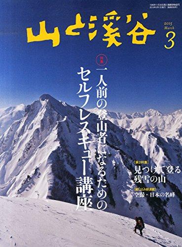 山と溪谷2015年3月号 特集「一人前の登山者になるためのセルフレスキュー講座」の詳細を見る