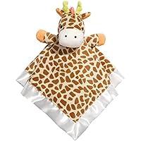 Baby Dumpling Little Fair Plush Snuggle Blankie, Giraffe by Baby Dumpling