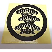 Japanese crested three-story pine sticker