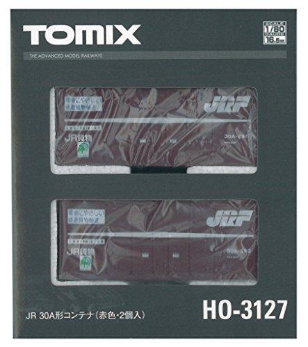 トミーテック TOMIX HOゲージ 30A形 コンテナ 赤色 2個入 HO-3127 鉄道模型用品