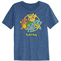 Jumping Beans Boys 4-12 Pokemon Starting Graphic Tee