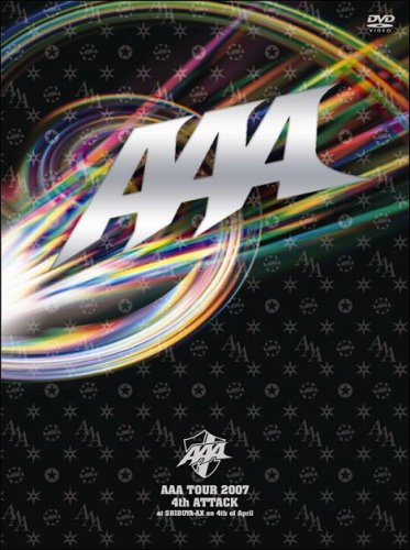 AAA TOUR 2007 4th ATTACK at SHIBUYA-AX on 4th of April(2枚組) [DVD]