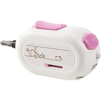 ワンクリックでDIY マウス型 電動ドライバー Click USB充電 コードレス 手のひらサイズ