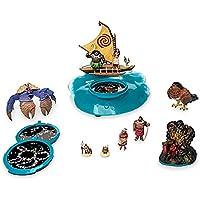 モアナと伝説の海 プロジェクションボートプレイセット 【日本未発売、USディズニーストア】並行輸入品