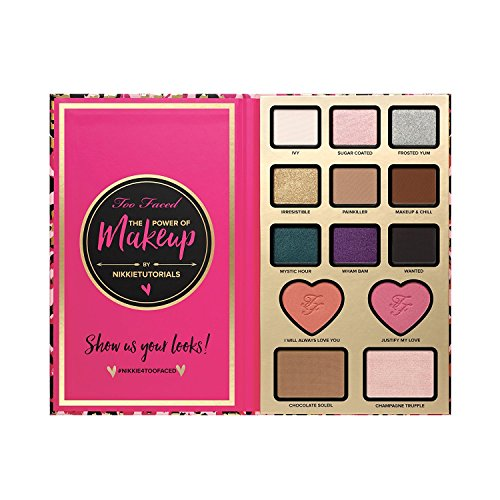 Too Faced Cosmetics The Power of Makeup By Nikkietuyorials