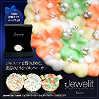 Jewelit by 1carat ジュエリーマーカー ジルコニア シュガーフラワー[ ゴルフ コンペ 景品 ゴルフ用品 グッズ ギフト プレゼント](パステル)