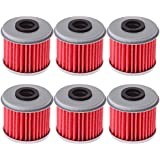 Oil Filter For 2002-2018 HONDA CRF450R CRF450 CRF 450R 450 replaces part# 15412-MEB-671(pack of 6)