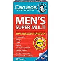 Carusos Natural Health Ultra Max Mens Super Multi 60 Tablets