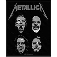 Metallica Patch Undead Album Logo 公式 新しい ブラック Cotton Sew On 10cm x 8cm