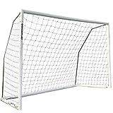 [クイックプレイ] 組み立て式 フットサルゴール 3m×2m 公式サイズ MF2F UPVCフレーム 折りたたみ サッカー ゴール