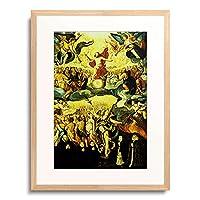 Meister der Engel (Breslau),nach 1583 「Das Jungste Gericht Epitaph des Lukas Pollio und der Marta Georg」 額装アート作品