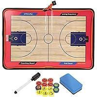 RUNACC 作戦板 バスケットボール 作戦ボード 磁性 マグネット コーチングボード コーチ戦略指導 折りたたみ式
