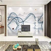 Bzbhart カスタム中国抽象インクライン煙風景壁紙用リビングルーム寝室の壁紙家の装飾3d壁画壁紙-300cmx210cm