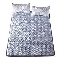 日本語 とろみ 畳敷き パッド, 折りたためる ポリエステル マットレストッパー 布団 1 ツインサイズ ベッドのマット パッド-B 90x200x5cm