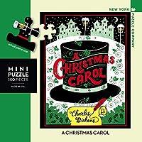 New York Puzzle Company - ペンギン ランダムハウス クリスマス キャロル ミニ - 100ピース ジグソーパズル