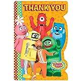 AmscanヒップとホップYo Gabba Thank Youカード誕生日パーティー用品、4 – 1 / 4 x 6 – 1 / 4