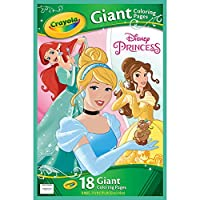 Giant Colouring Pages - Disney Princess