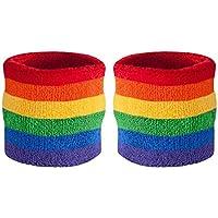 Headband Wristband Sweatband Set - Sports Sweatbands for Head & Wrists