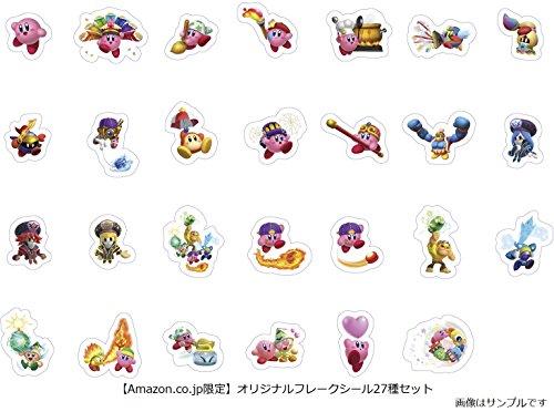 星のカービィ スターアライズ 【Amazon.co.jp限定】オリジナルフレークシール27種セット 同梱 - Switch