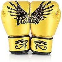 Fairtex Gold Falcon フェアテックス ゴールド ファルコン ボクシンググローブ 本革製