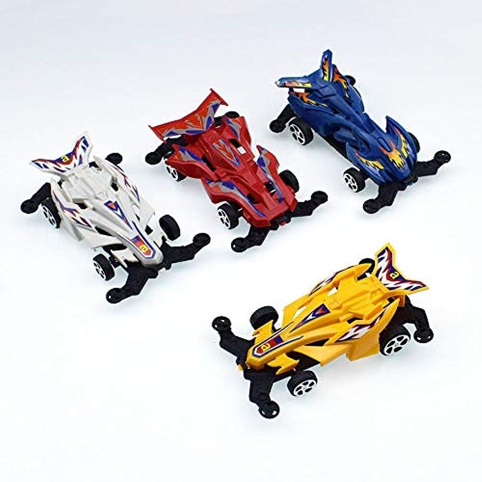 軽減する雑草比喩Rabugoo 子供の賞のための10PCS /セットミニ4輪駆動プルバックレーシングカーのおもちゃ