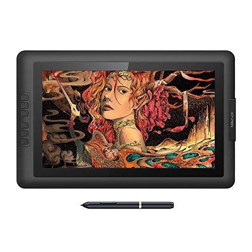 XP-Pen drawing tablet with screen drawing tablet with screen 15.6 inch Battery free stylus full HD pen pressure 81928192 level 6 piece express key Artist15.6