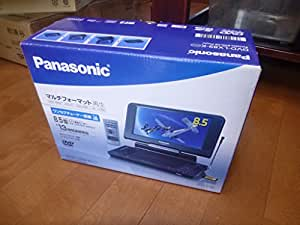 Panasonic 8.5型液晶・ワンセグチューナー搭載ポータブルDVD・SD・CDプレーヤーブラックDVDLX89K DVD-LX89-K