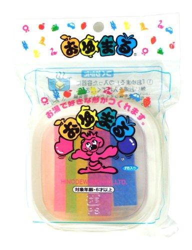 ヒノデワシ プラスチックねんど おゆまる300 7色 OO-300 7個入