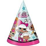 BirthdayExpress LOL サプライズパーティー用品 16パーティーハット