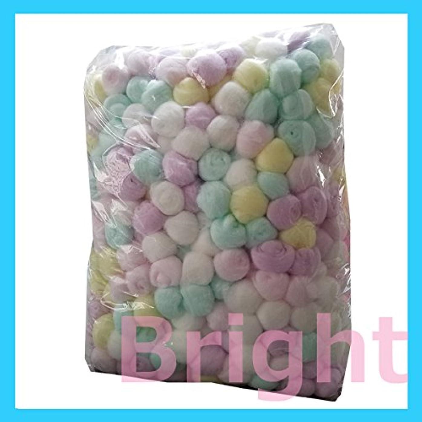 エスカレートデコラティブ鎮静剤業務用カラーコットンボール 1000球アソート