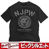 新日本プロレスリング ライオンマーク ビッグシルエットTシャツ/BLACK-XL
