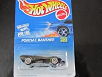 Pontiac Banshee (Black&green W/wire Spoke Wheels) Hot Wheels Collector #457 on Blue&white Card