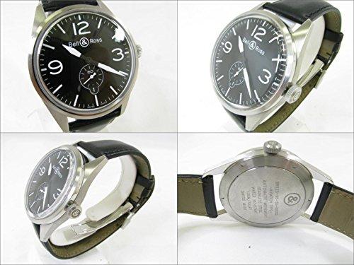[ベル&ロス] Bell & Ross ヴィンテージ 腕時計 ウォッチ ブラック ステンレススチール(SS) BR123-95-SS [中古]